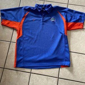 Nike Florida Gators Polo Shirt Mens Extra Large XL